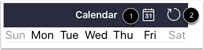 View Calendar Settings