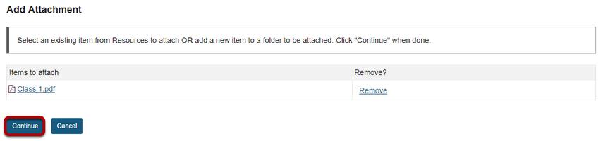 Click Continue.