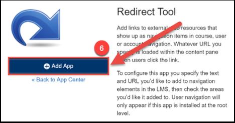 click +add app