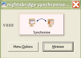 Click on Synchronise