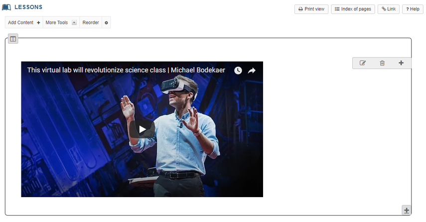 View embedded video on page.