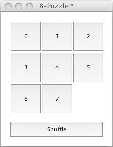 The 8-Puzzle Board