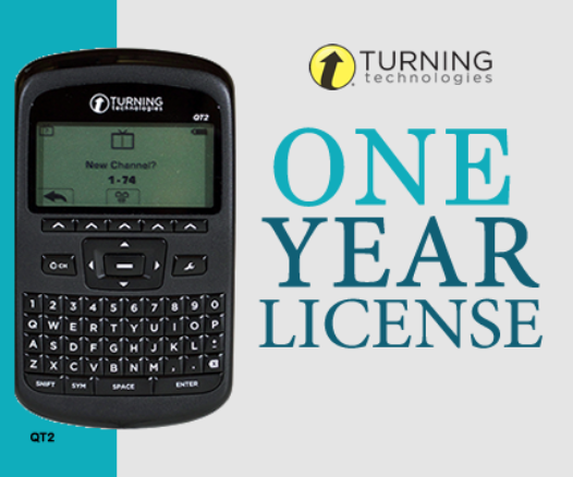 Option 1: QT2 clicker with a 1 year license for $44 + Shipping and handling.