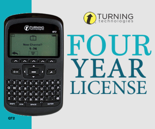 Option 2: QT2 clicker with a 4 year license for 64.99 + shipping and handling.