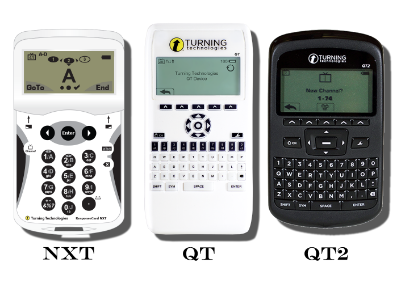 The models that can be used are the NXT, QT, or QT2