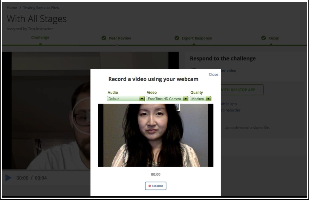 View webcam image