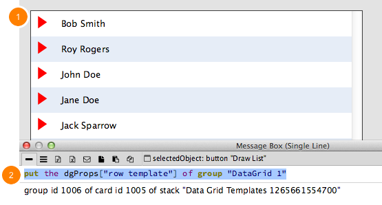 Create First Data Grid