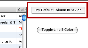 The Default Custom Column Behavior