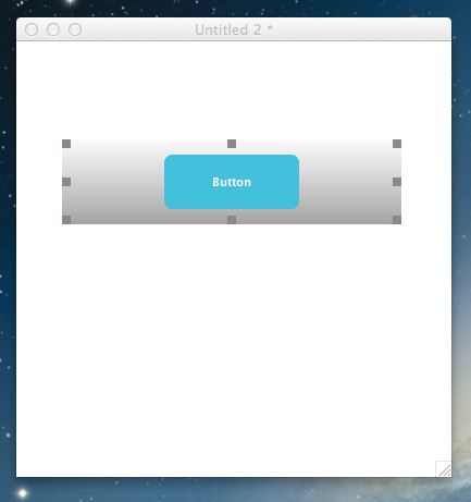 Example Script - Scale and position the button.