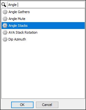 Create angle stacks process