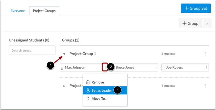 Manually Assign Leader