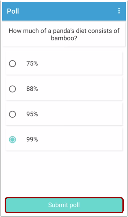 Submit Poll