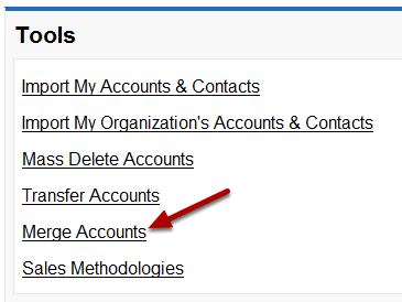 Merge Accounts