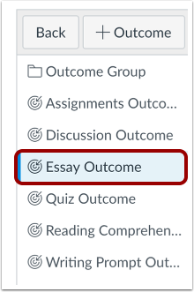 Select Outcome