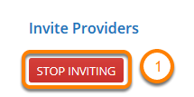 Stop Inviting Providers