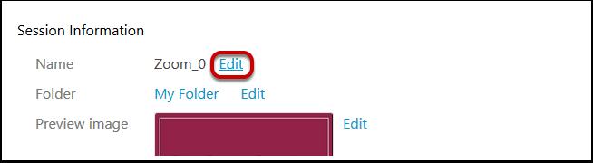 Sselect Edit.