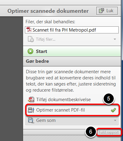 Adobe Acrobat opdaterer nu dokumentet
