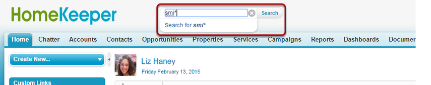 Look for Information Using Search