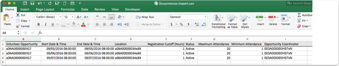 Import your Data using the Data Loader