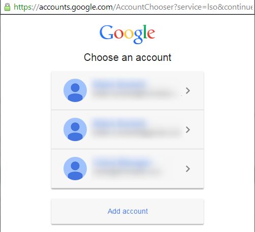 Authorize Google