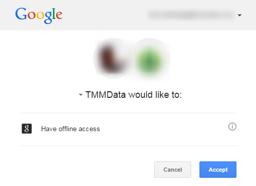 Google will ask for permission to connect.