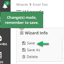Remember to save the changes after you are done.