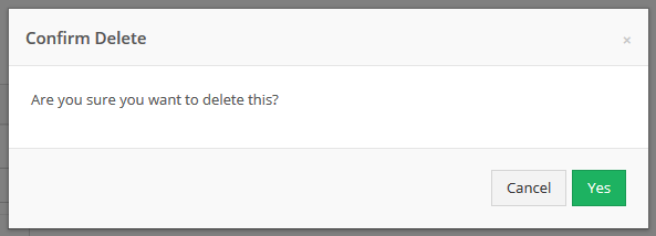 Confirm that you would like to delete the plugin.