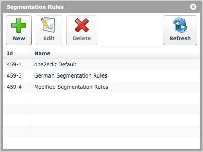 'Segmentation Rules'