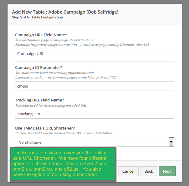 Setting up your Campaign Tracking URL