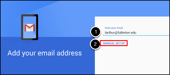 Email address and setup