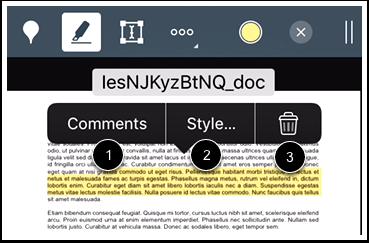 Modify Highlight Annotation