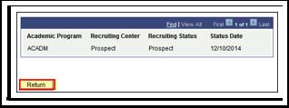 Prospect Program Data