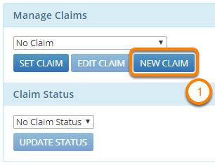 Create a New Claim