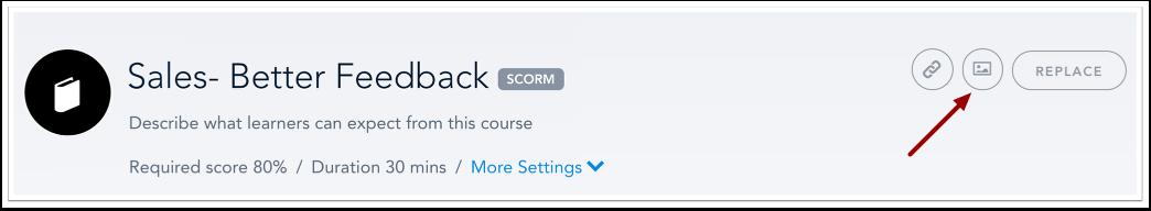 Modifier le cours SCORM