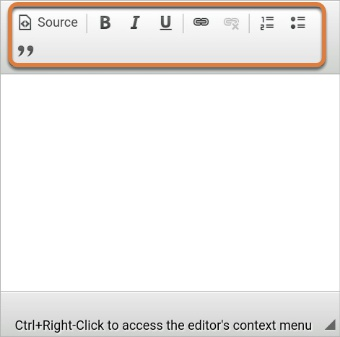 Screenshot of mobile editor (limited tools available)