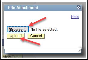 File Attachment page