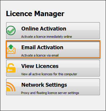 Offline licence request