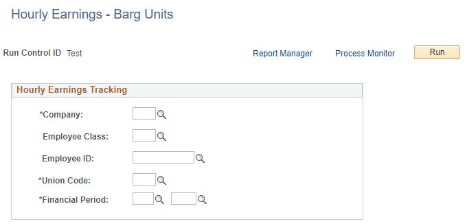Hourly Earnings - Barg Units