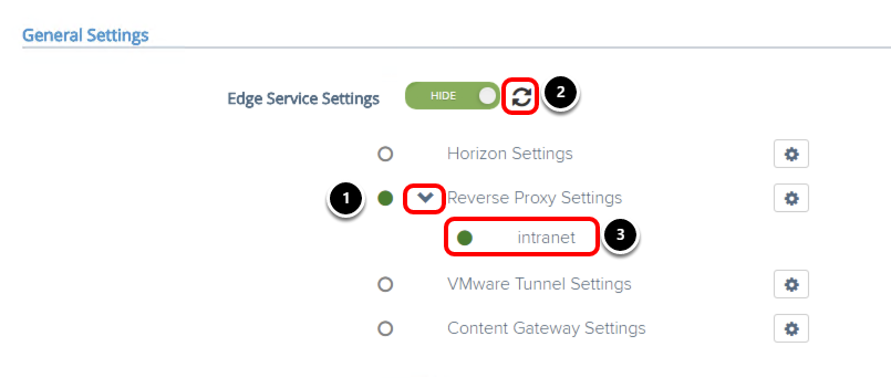 Validating reverse proxy configuration for intranet