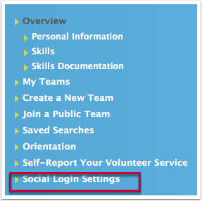 How to link your HOC login with your Facebook Account