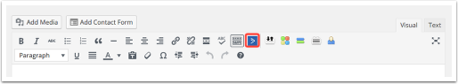 AC button in toolbar