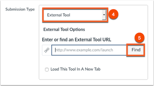 Choose the external tool