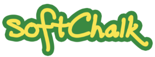 Yellow and green SoftChalk logo