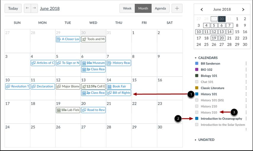 Se kalenderlistan