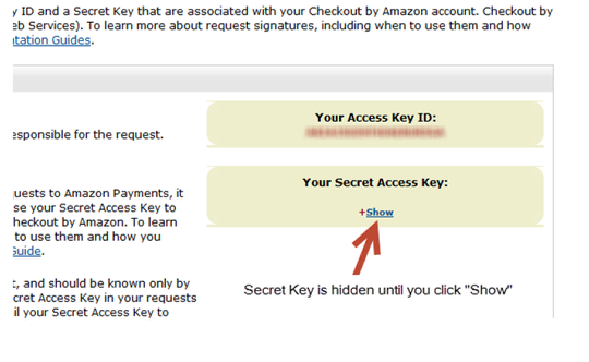 Locating Access Key ID and Secret Access Key: Step 2
