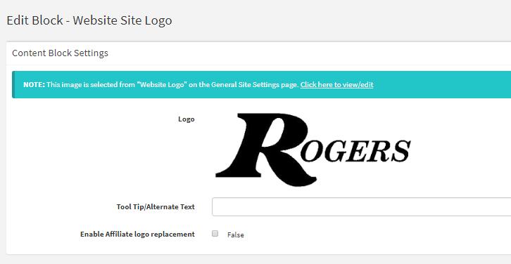 Website Site Logo