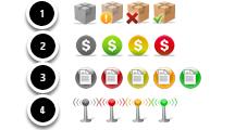 Order Status Icons