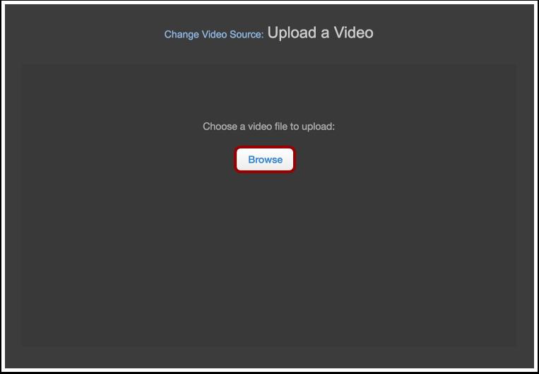 Choose Video File