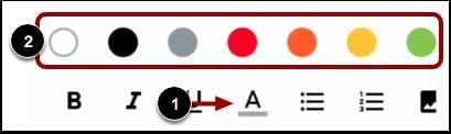 Change Text Color