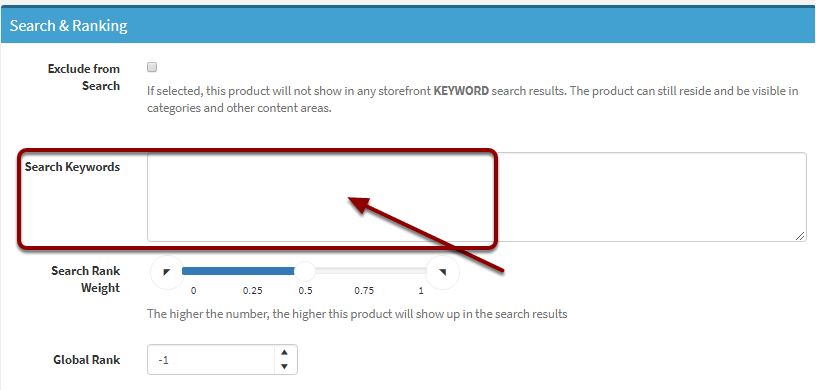 Search Keywords